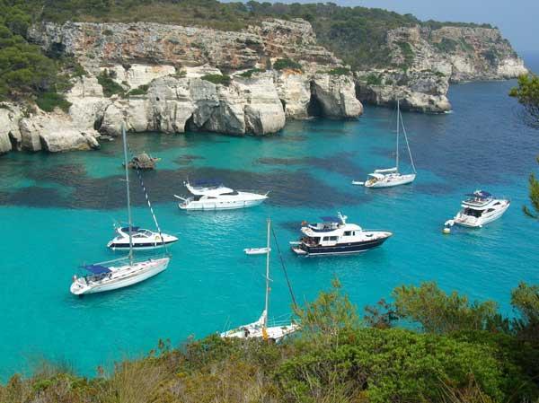 les vacances au bord de la mer méditerrannée