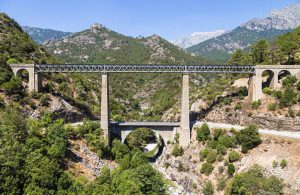Prendre le train en Corse