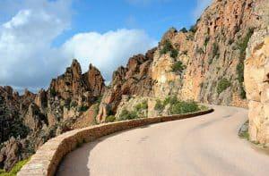 Circuler par la route en Corse