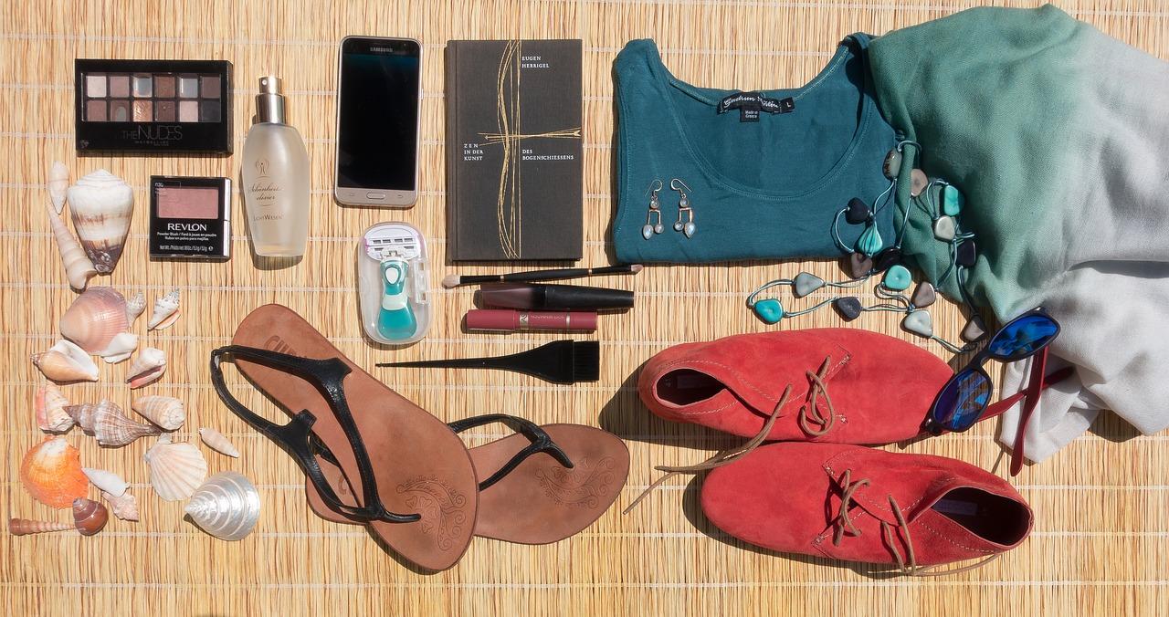Quelles chaussures emmener en vacances ?