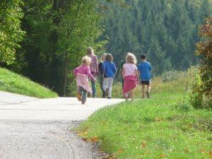 promenade en nature en famille