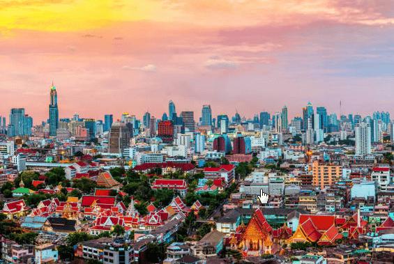 Zoom sur Bangkok, la capitale thaïlandaise vertigineuse